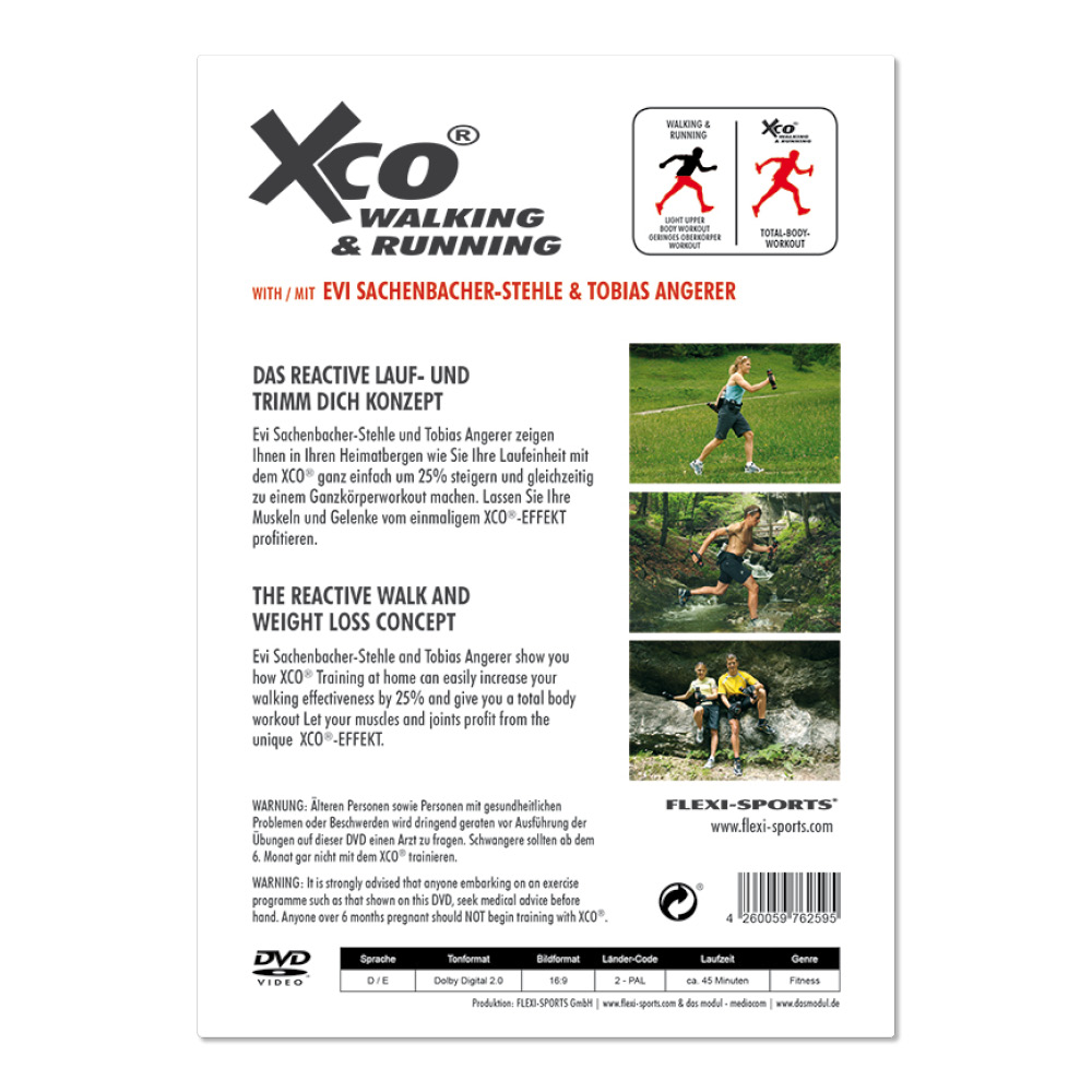 XCO WALKING & RUNNING (DVD)