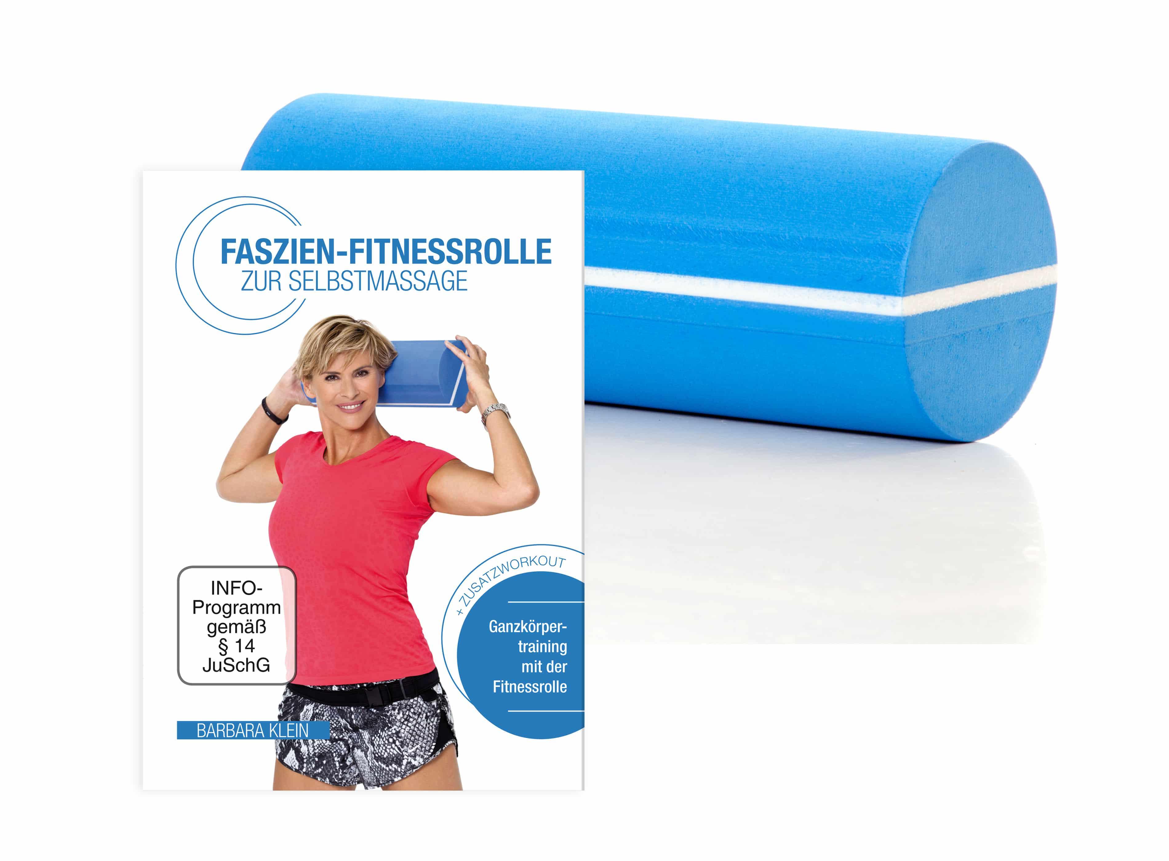 Faszien-Fitnessrolle