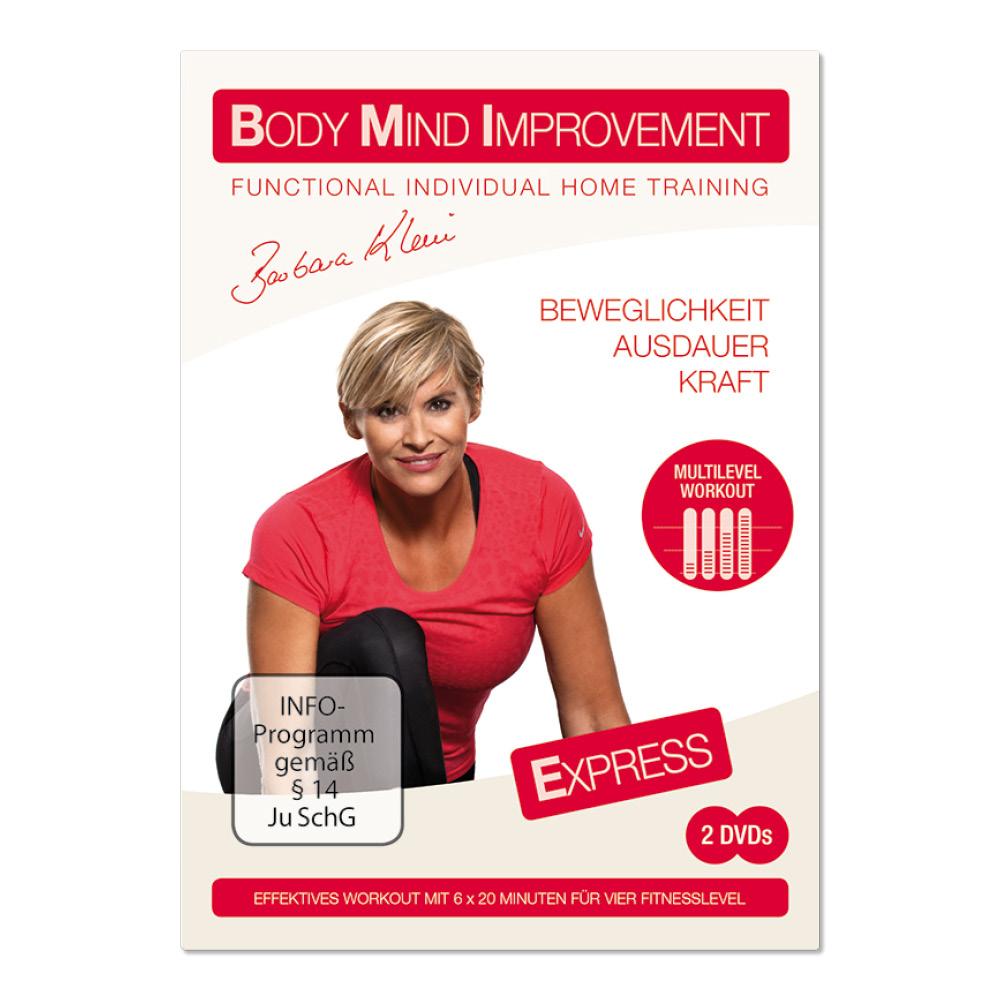 BODY MIND IMPROVEMENT EXPRESS (DVD)