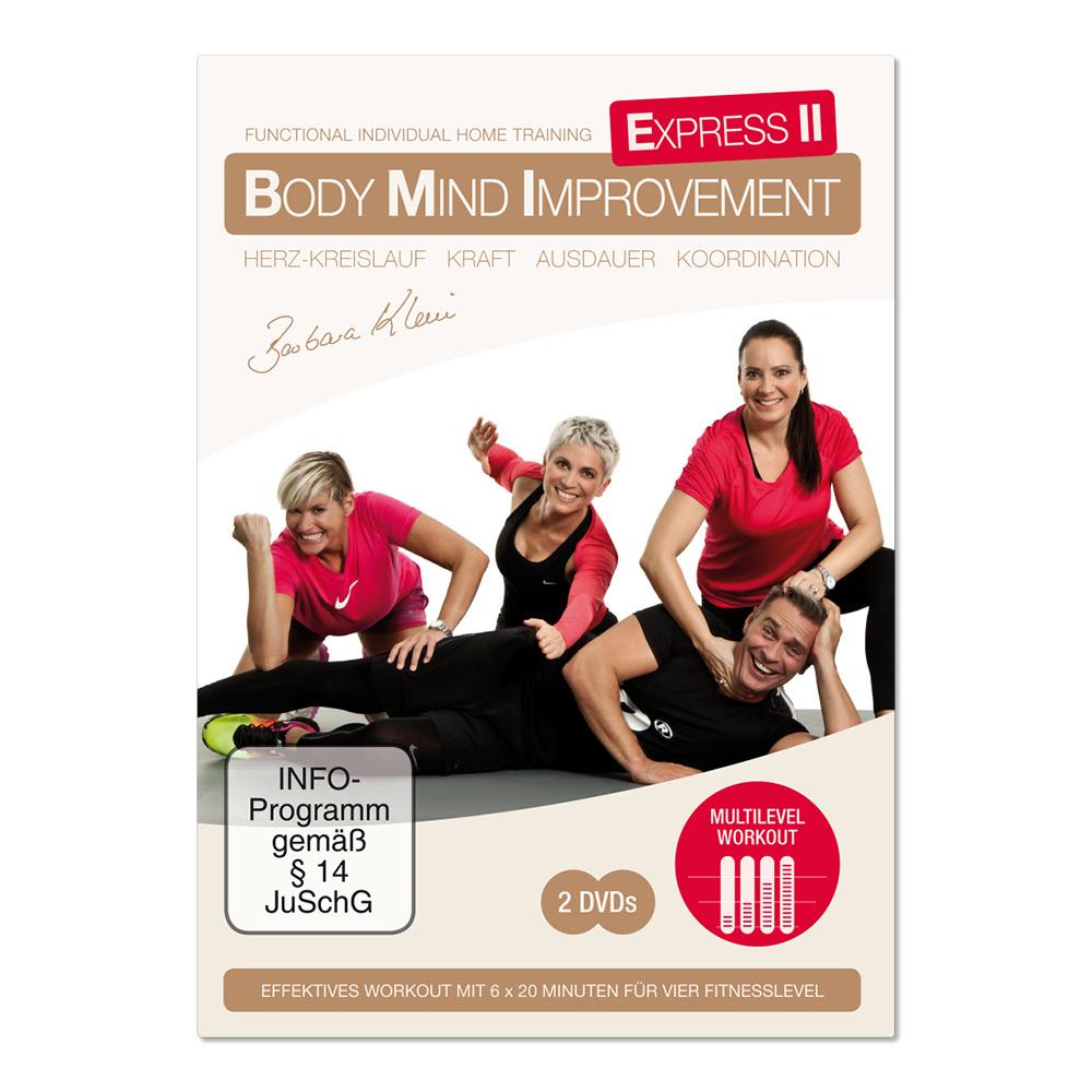 BODY MIND IMPROVEMENT EXPRESS II (DVD)
