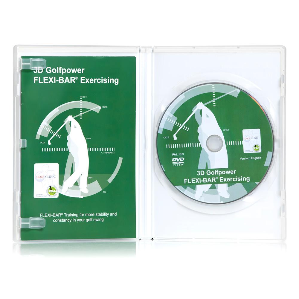 FLEXI-BAR - 3D Golfpower Exercising (DVD) E