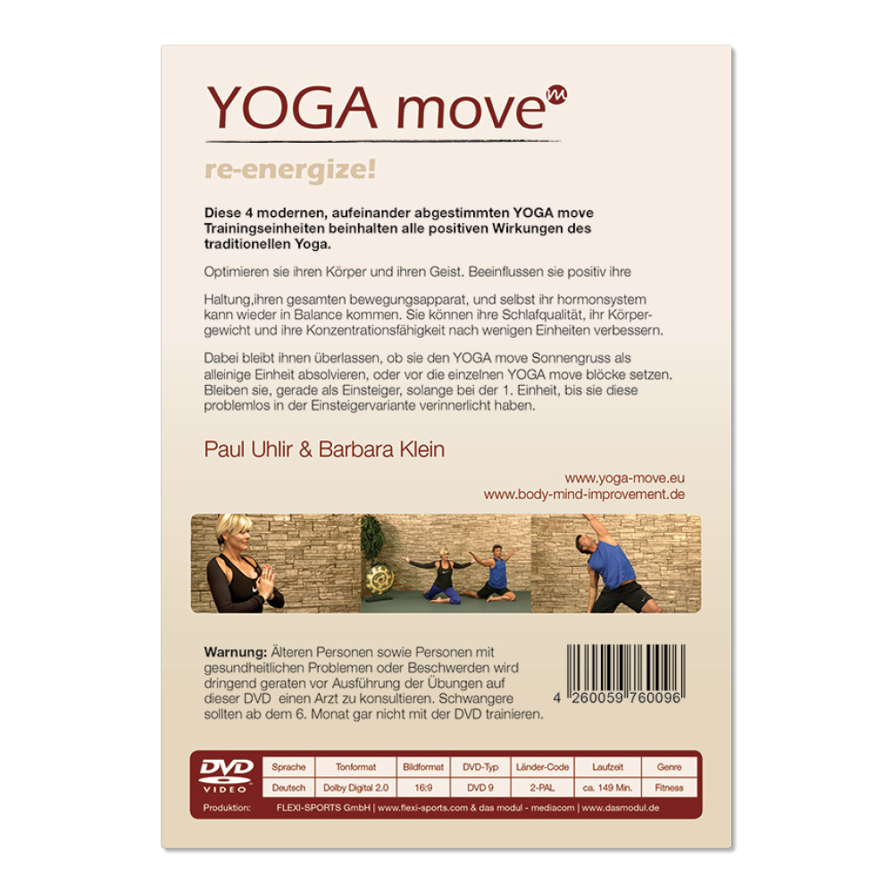 YOGA MOVE - re-energize! (DVD)