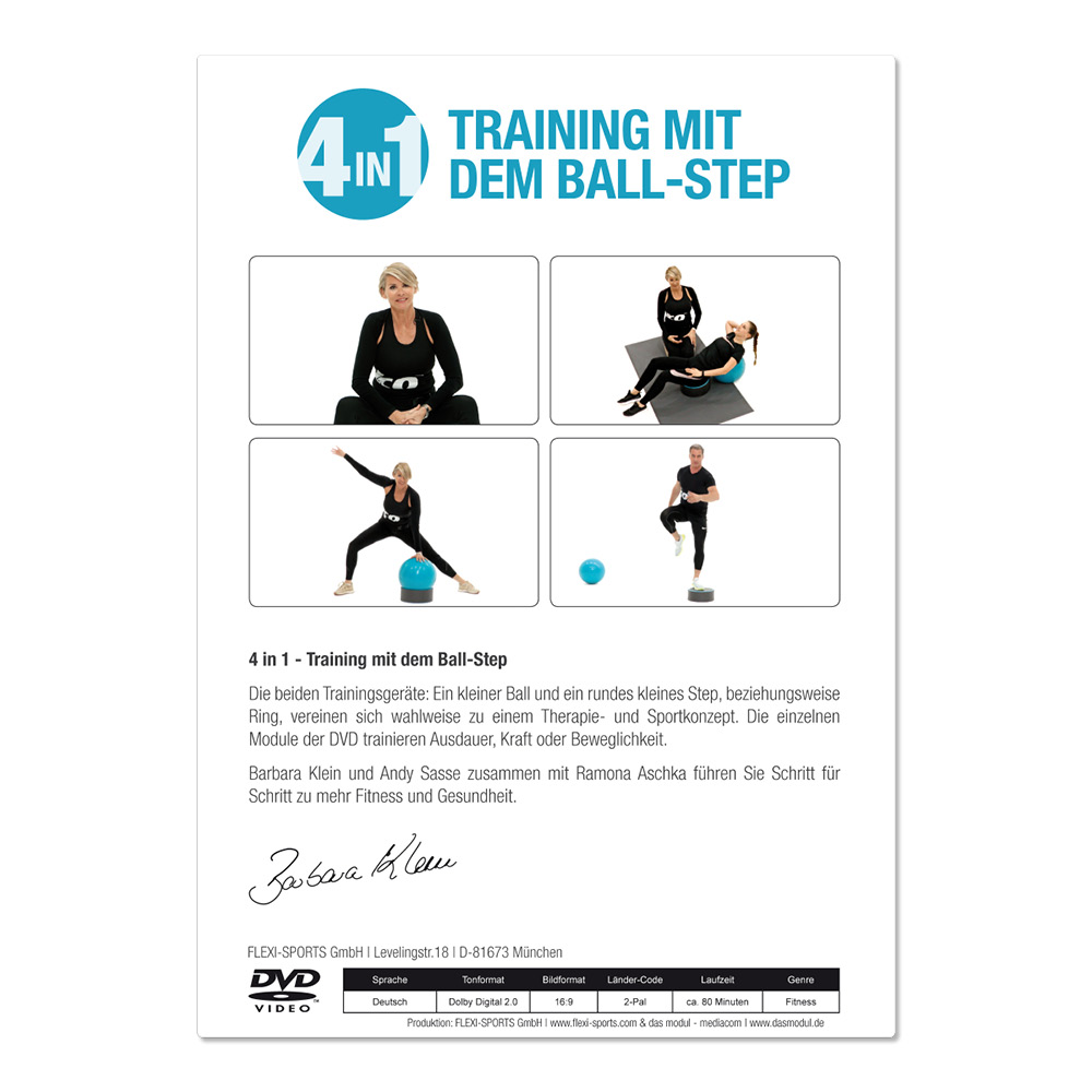 4in1 STEP & BALL - Türkis