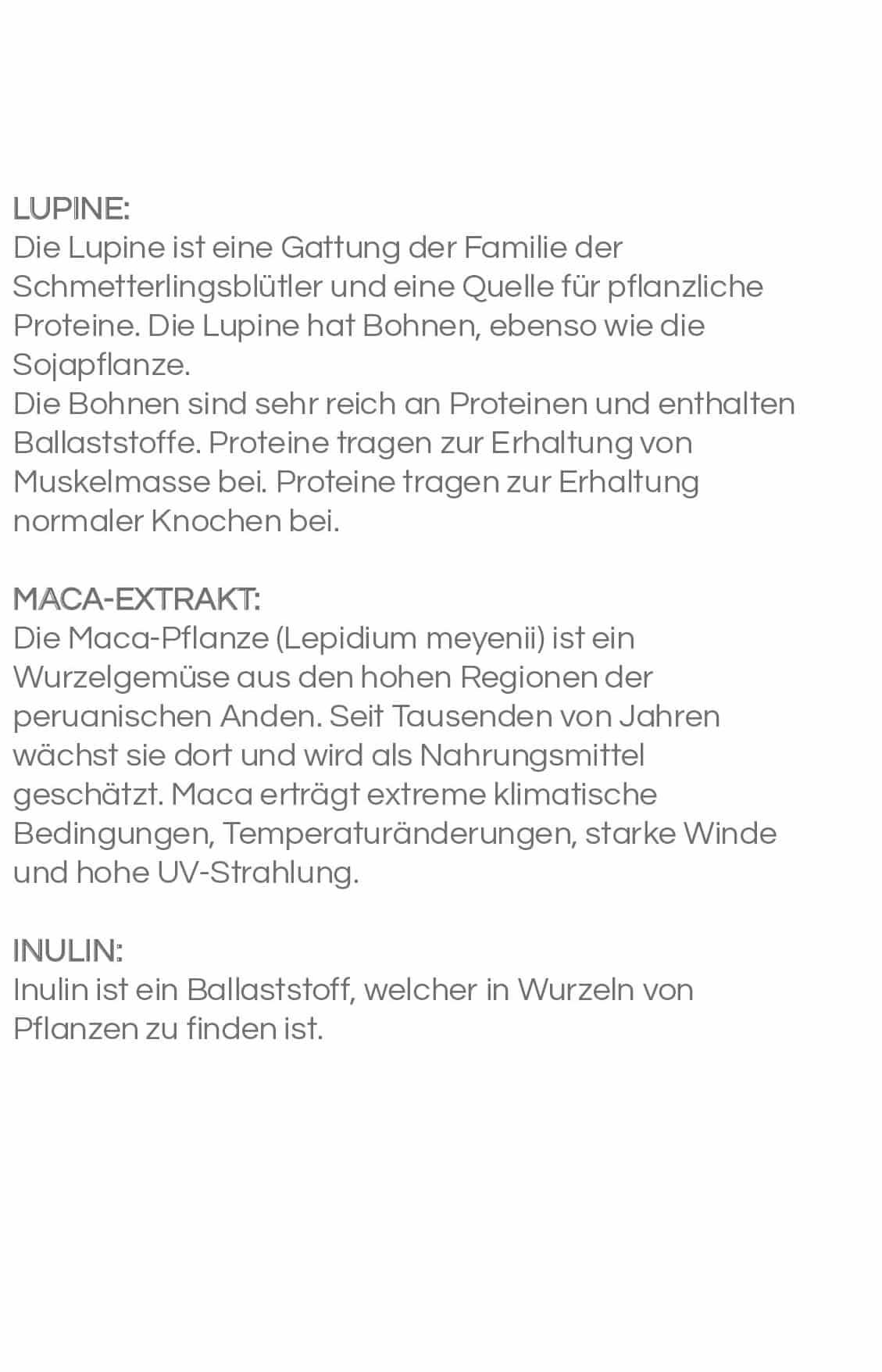 LUPINEN PROTEIN SHAKE -  Erdbeer-Kirsch 20 Sachets