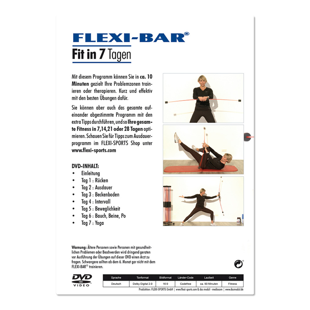 FLEXI-BAR - Fit in 7 Tagen (DVD)