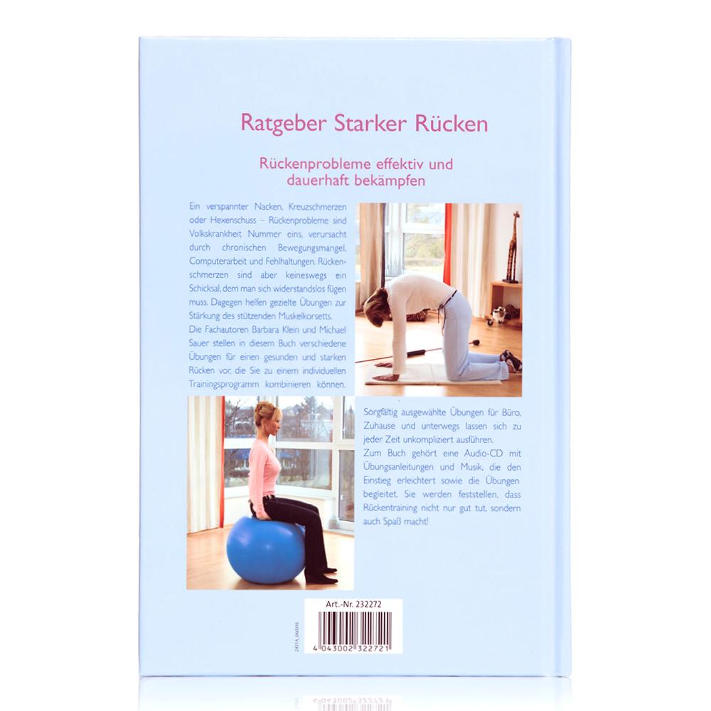 Ratgeber Starker Rücken (Buch + Audio CD)