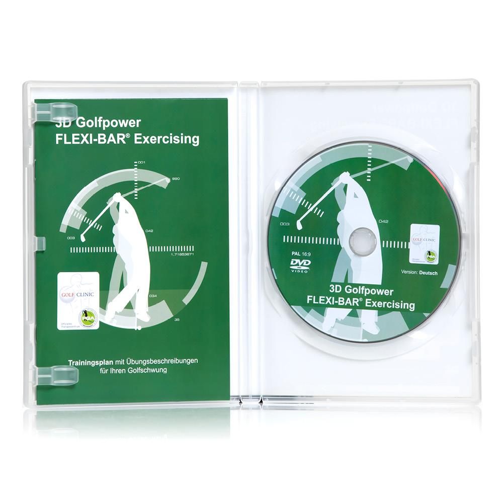 FLEXI-BAR - 3D Golfpower Exercising (DVD) D
